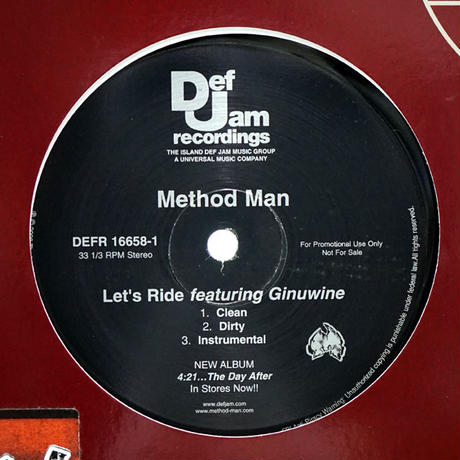 Method Man - Let's Ride