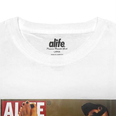 ALIFE Tシャツ -REDMAN 2 SS TEE/WHITE-