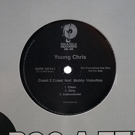 Young Chris Feat. Bobby Valentino // Coast 2 Coast // HY042A