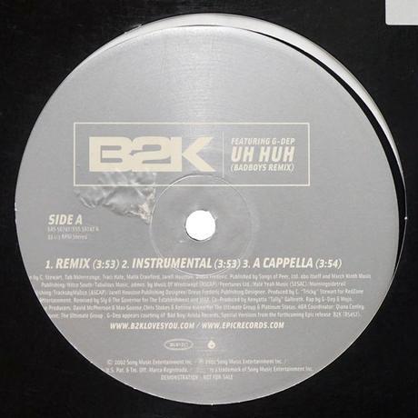 B2K // Uh Huh (Remix) // RB008A