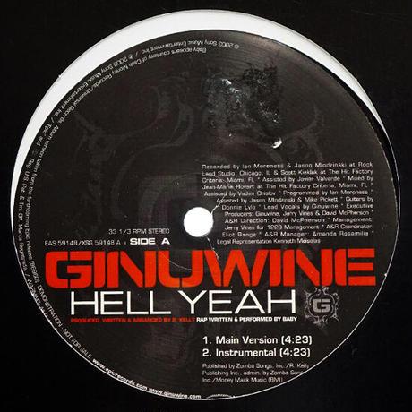 Ginuwine // Hell Yeah // RG009A