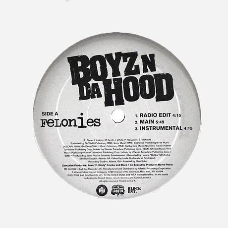 Boyz N Da Hood // Felonies / Gangstas // HB047A