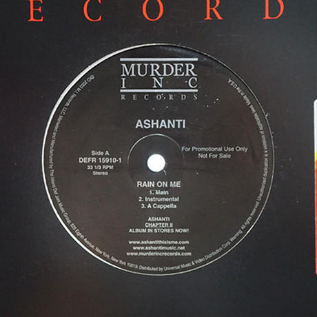 Ashanti // Rain On Me // RA014B