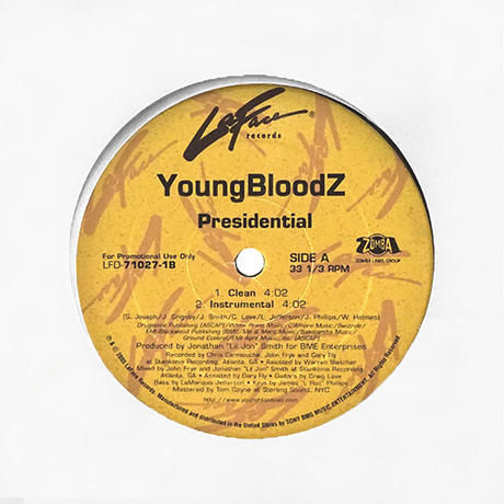 YoungBloodZ // Presidential // HY050A