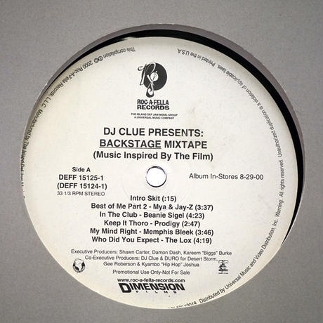 DJ Clue // Backstage Mixtape // HD021A