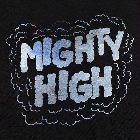 MIGHTYHEALTHY x REDMAN Tシャツ -Mighty Hight / BLACK-