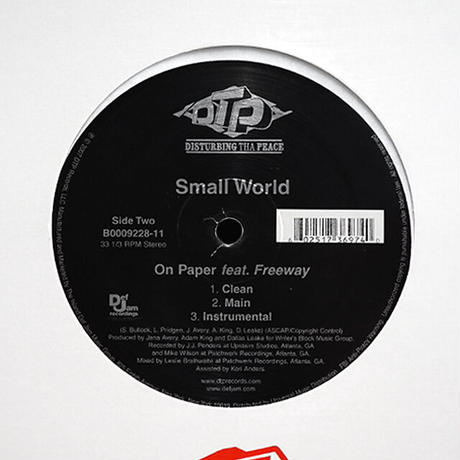 Small World // Put It In Reverse / On Paper // HS067A
