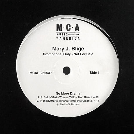 Mary J. Blige // No More Drama (Remix) // RM069A