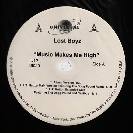 Lost Boyz // Music Makes Me High (Remix) // HL049B
