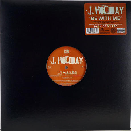 J.Holiday - Be With Me
