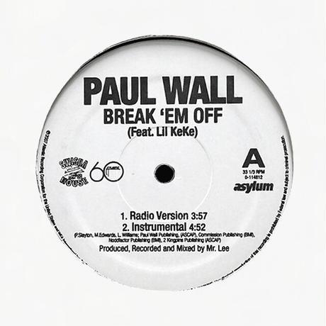 Paul Wall // Break 'Em Off // HP040A