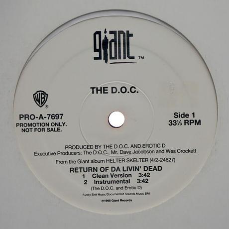 The D.O.C // Retune Of Da Livin' Dead // WD034B