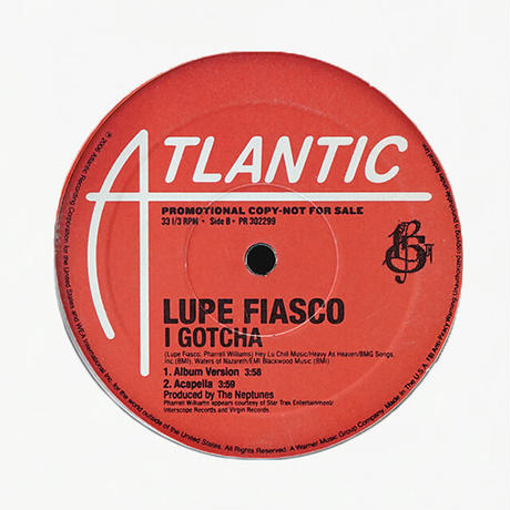 Lupe Fiasco // I Gotcha // HL062B