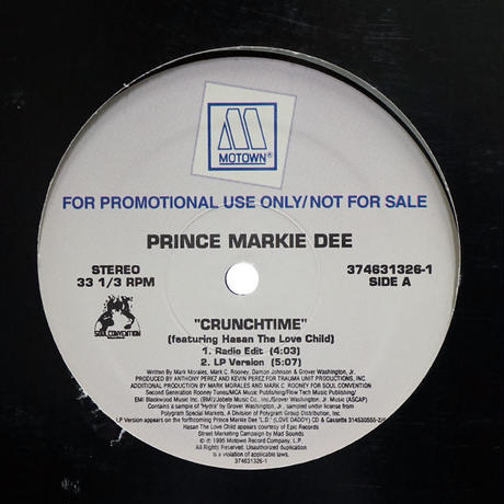 Prince Markie Dee // Crunchtime // HP024A