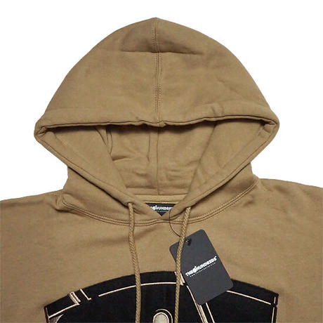 THE HUNDREDS×RAWKUS パーカー -RAZOR PULLOVER / SAND-