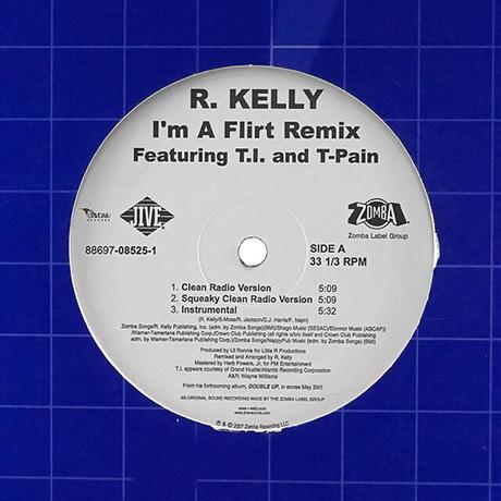 R. Kelly Featuring T-Pain, T.I. // I'm A Flirt (Remix) // RR023A