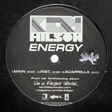 Keri Hilson // Energy // RK016A