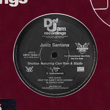 Juelz Santana // Oh Yes (Aka Postman) / Shottas // HJ052A
