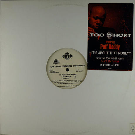 Too $hort - It's About That Money