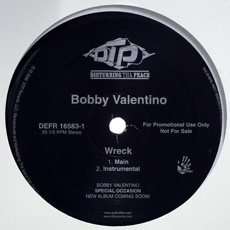 Bobby Valentino // Wreck // RB014A
