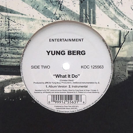 Yung Berg // Sexy Lady / What It Do // RY002A