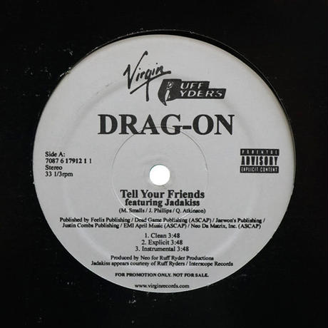 Drag-On // Tell Your Friends / The Race // HD035C