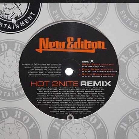 New Edition // Hot 2Nite (Remix) // RN001B