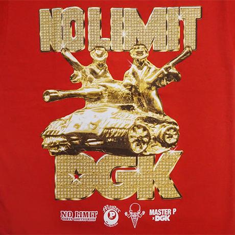 DGK Tシャツ -DGK x No Limit Tank Tee / RED-