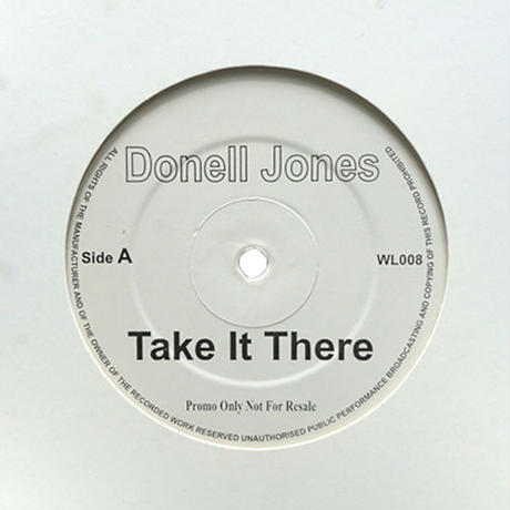 Donell Jones & Guru // Take It There / Hustlin Daze // RD015A