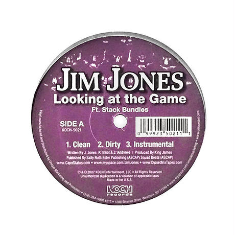 Jim Jones // Looking At The Game // HJ031A
