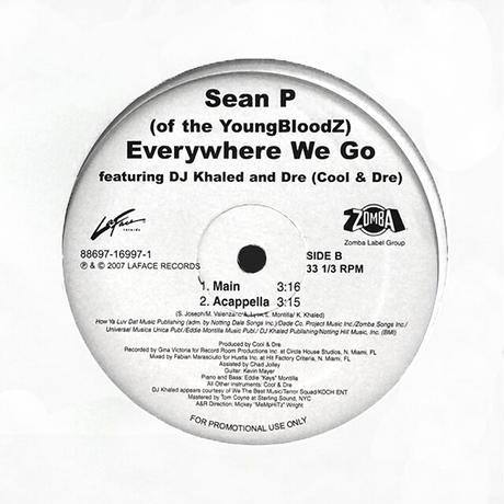Sean P. Featuring DJ Khaled and Dre // Everywhere We Go // HS066A