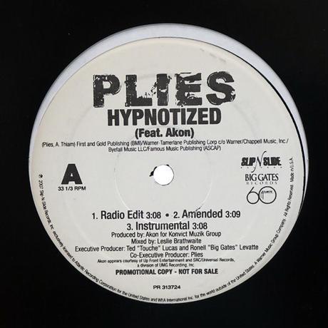 Plies // Hypnotized // HP039A