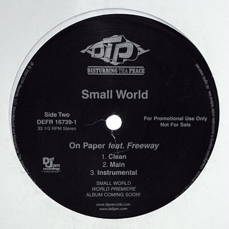 Small World // Put It In Reverse / On Paper // HS062B