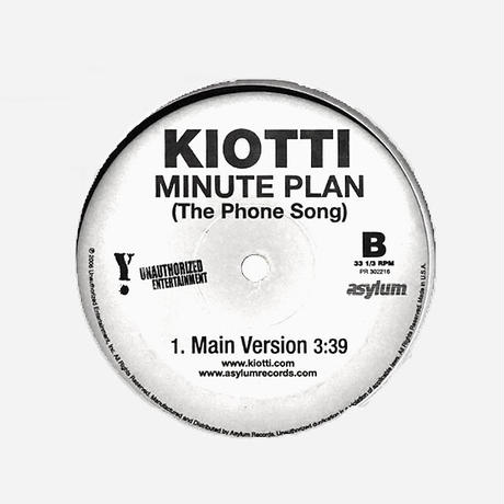 Kiotti // Minute Plan (The Phone Song) // HK027A