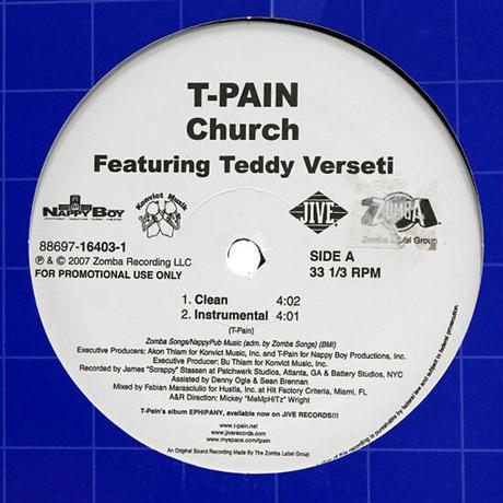 T-Pain Featuring Teddy Verseti // Church // RT024A