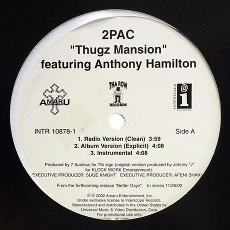 2pac - Thugz Mansion