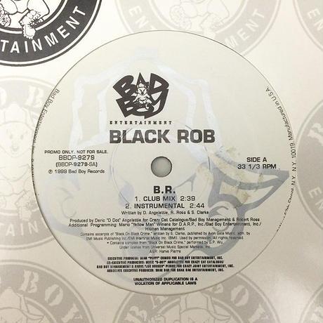 Black Rob // B.R // HB023A
