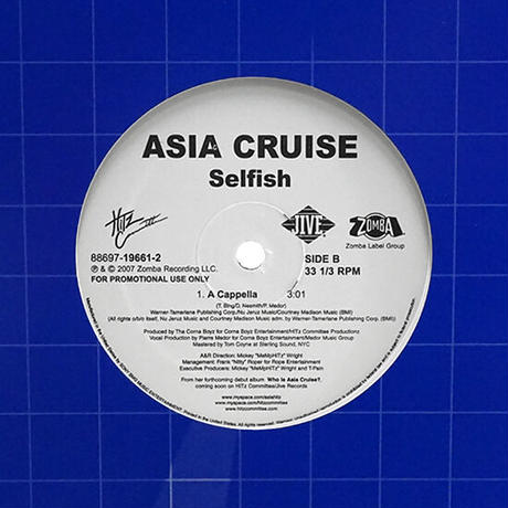 Asia Cruise // Selfish // RA042A