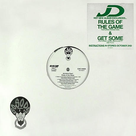 Jermaine Dupri // Rules Of The Game / Get Some // HJ020A