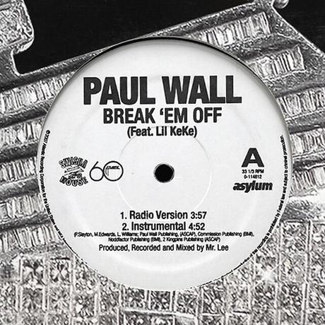 Paul Wall // Break 'Em Off // HP039A