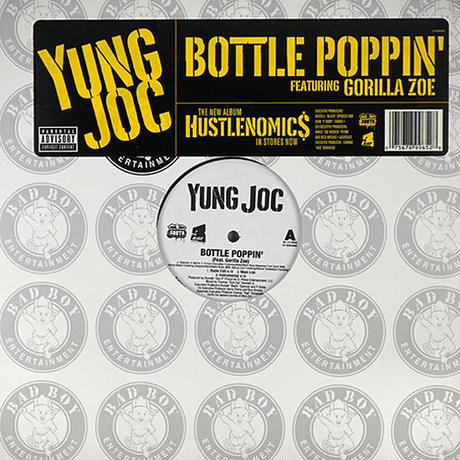 Yung Joc // Bottle Poppin' // HY045A