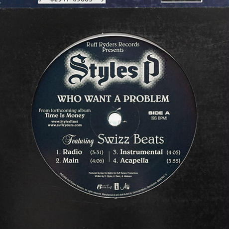 Styles P // Who Want A Problem / Favorite One // HS060B
