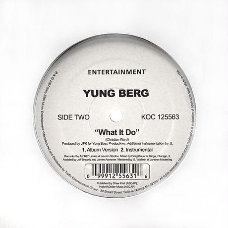 Yung Berg // Sexy Lady / What It Do // RY003A