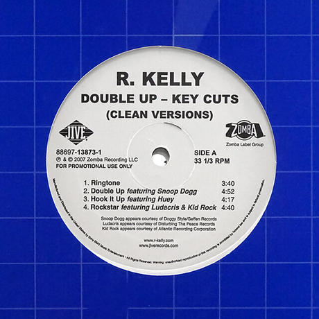 R. Kelly // Double Up - Key Cuts // RR022A