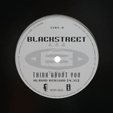 Blackstreet // Think About You // RB024A