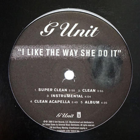 G-Unit - I Like The Way She Do It