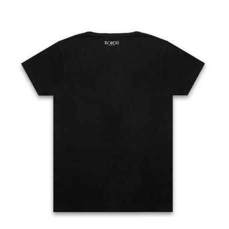 TWO ANGLE Tシャツ - BACTWO / BLACK -