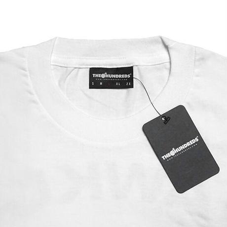 THE HUNDREDS×RAWKUS Tシャツ -SOUND BOMBING T-SHIRT / WHITE-