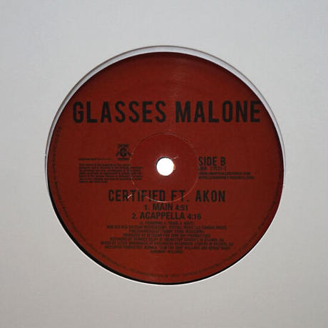 Glasses Malone Featuring Akon // Certified // HG019A