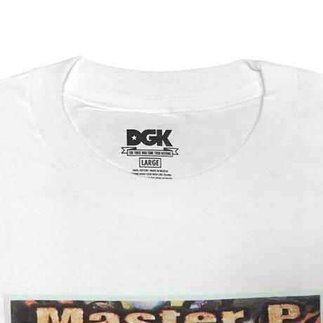 DGK Tシャツ -DGK x No Limit Banned Tee / WHITE-